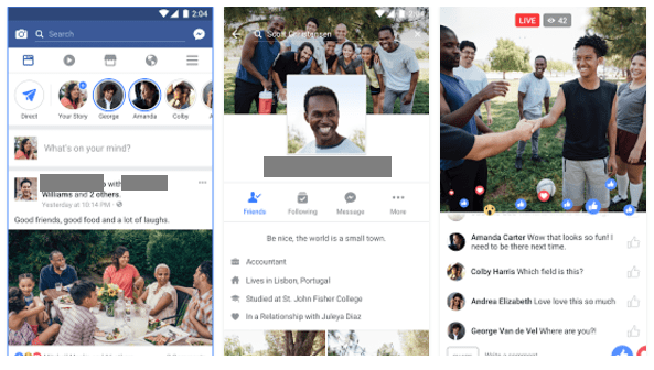 Create mobile-first content on facebook